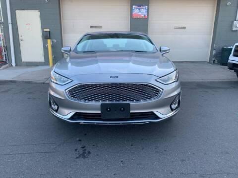 2020 Ford Fusion for sale at SUNSHINE AUTO SALES LLC in Paterson NJ