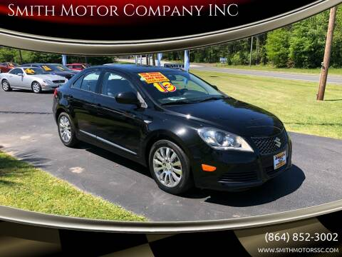 2013 Suzuki Kizashi for sale at Smith Motor Company INC in Mc Cormick SC