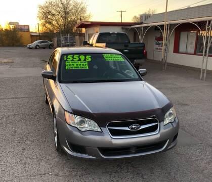 2008 Subaru Legacy for sale at Senor Coche Auto Sales in Las Cruces NM