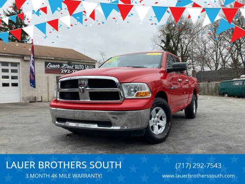 2011 RAM Ram Pickup 1500 for sale at LAUER BROTHERS SOUTH in York PA