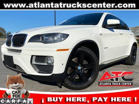 2014 BMW X6 for sale at ATLANTA TRUCK CENTER LLC in Brookhaven GA