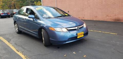 2008 Honda Civic for sale at Exxcel Auto Sales in Ashland MA
