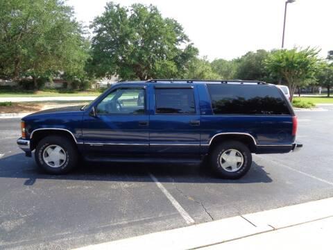 1999 Chevrolet Suburban for sale at BALKCUM AUTO INC in Wilmington NC