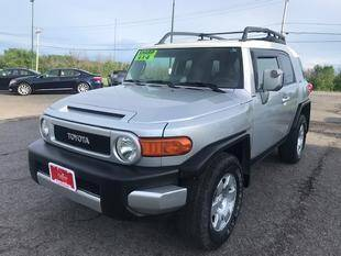 2008 Toyota FJ Cruiser for sale at FUSION AUTO SALES in Spencerport NY