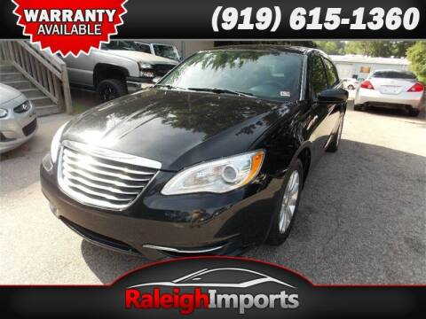 2013 Chrysler 200 for sale at Raleigh Imports in Raleigh NC