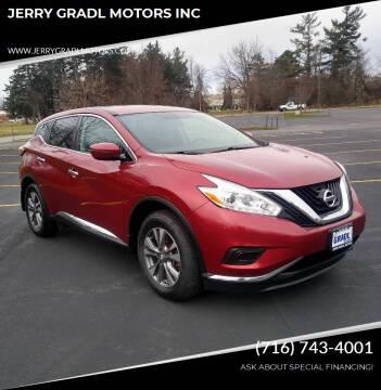 2016 Nissan Murano for sale at JERRY GRADL MOTORS INC in North Tonawanda NY