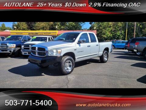 2007 Dodge Ram Pickup 1500 for sale at Auto Lane in Portland OR