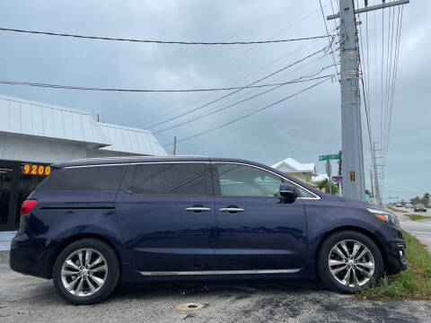 2018 Kia Sedona for sale at Key West Kia - Wellings Automotive & Suzuki Marine in Marathon FL