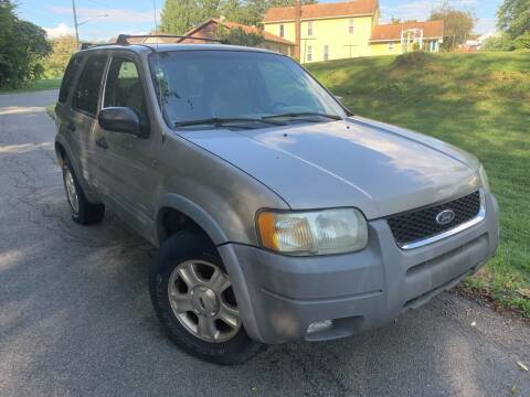2001 Ford Escape for sale at Trocci's Auto Sales in West Pittsburg PA