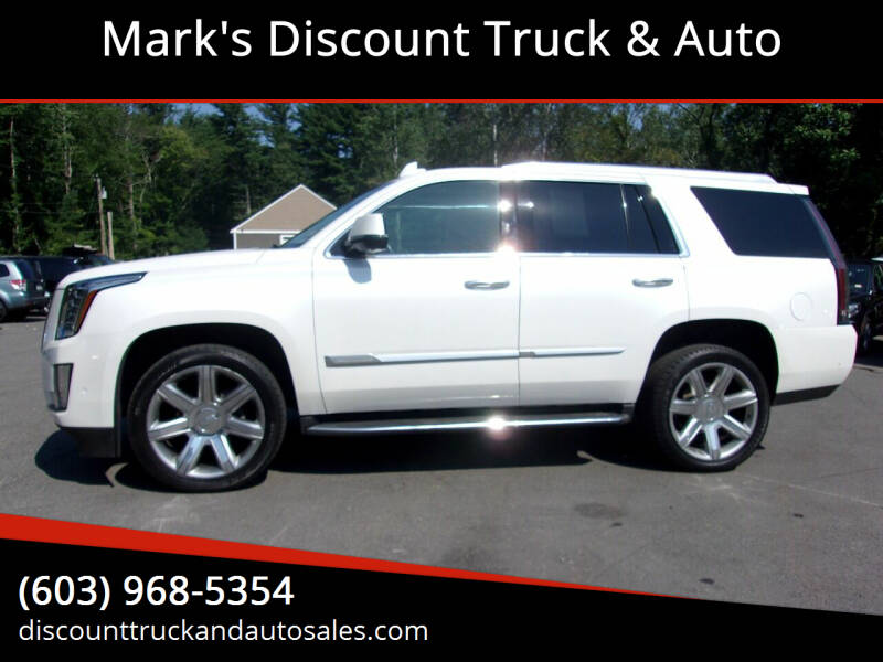2018 Cadillac Escalade for sale at Mark's Discount Truck & Auto in Londonderry NH