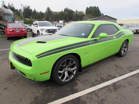 2015 Dodge Challenger for sale at 101 Budget Auto Sales in Coos Bay OR
