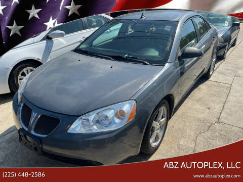 2009 Pontiac G6 for sale at ABZ Autoplex, LLC in Baton Rouge LA