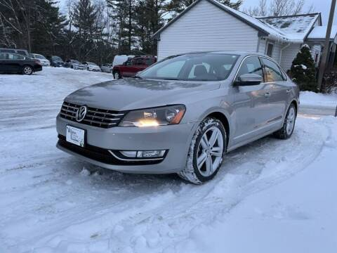 2013 Volkswagen Passat for sale at Williston Economy Motors in Williston VT