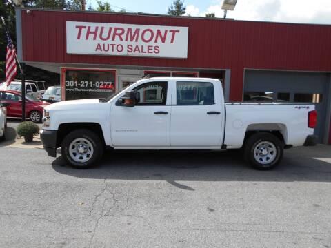 2017 Chevrolet Silverado 1500 for sale at THURMONT AUTO SALES in Thurmont MD