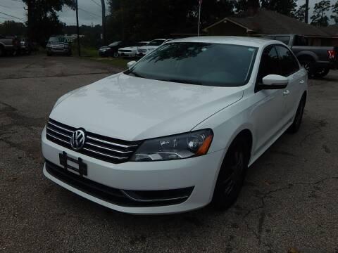 2014 Volkswagen Passat for sale at Medford Motors Inc. in Magnolia TX