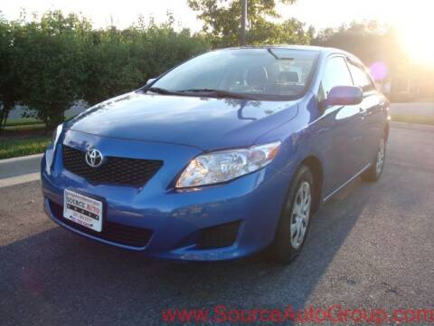 2009 Toyota Corolla for sale at Source Auto Group in Lanham MD