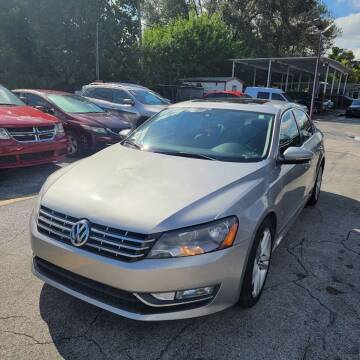 2012 Volkswagen Passat for sale at America Auto Wholesale Inc in Miami FL