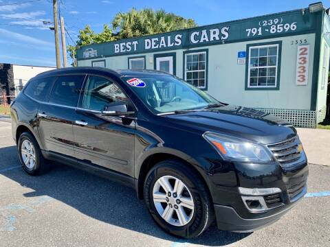 2014 Chevrolet Traverse for sale at Best Deals Cars Inc in Fort Myers FL