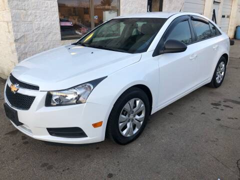 2013 Chevrolet Cruze for sale at Padula Auto Sales in Braintree MA