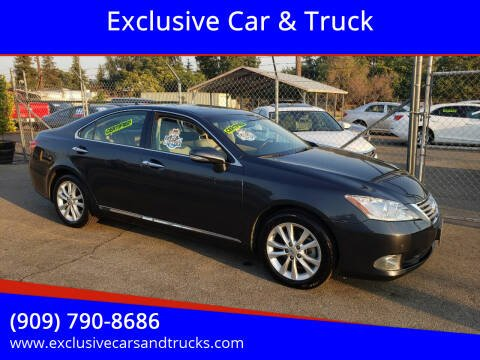 2010 Lexus ES 350 for sale at Exclusive Car & Truck in Yucaipa CA
