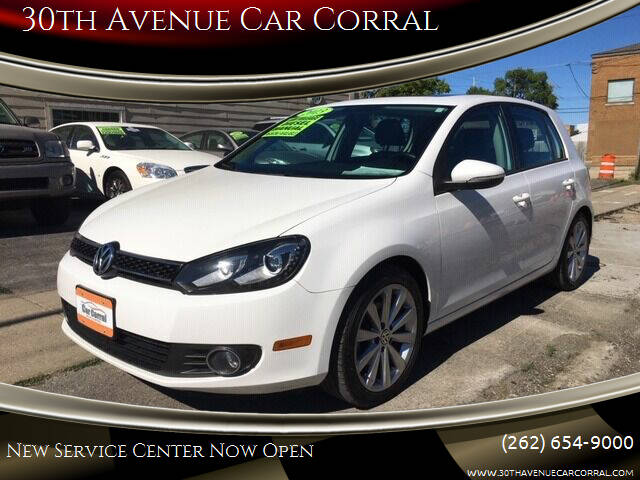 2013 Volkswagen Golf for sale at 30th Avenue Car Corral in Kenosha WI