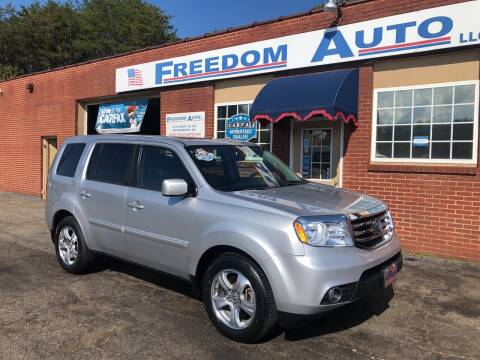 2013 Honda Pilot for sale at FREEDOM AUTO LLC in Wilkesboro NC