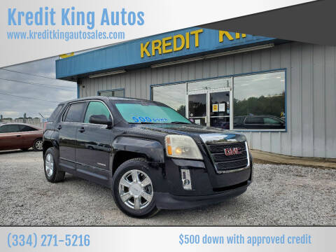 2010 GMC Terrain for sale at Kredit King Autos in Montgomery AL