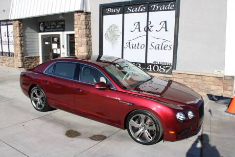 2018 Bentley Flying Spur for sale at A&A Auto Sales in Orem UT