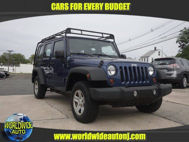 2010 Jeep Wrangler Unlimited for sale at Worldwide Auto in Hamilton NJ