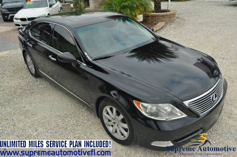 2008 Lexus LS 460 for sale at Supreme Automotive in Land O Lakes FL