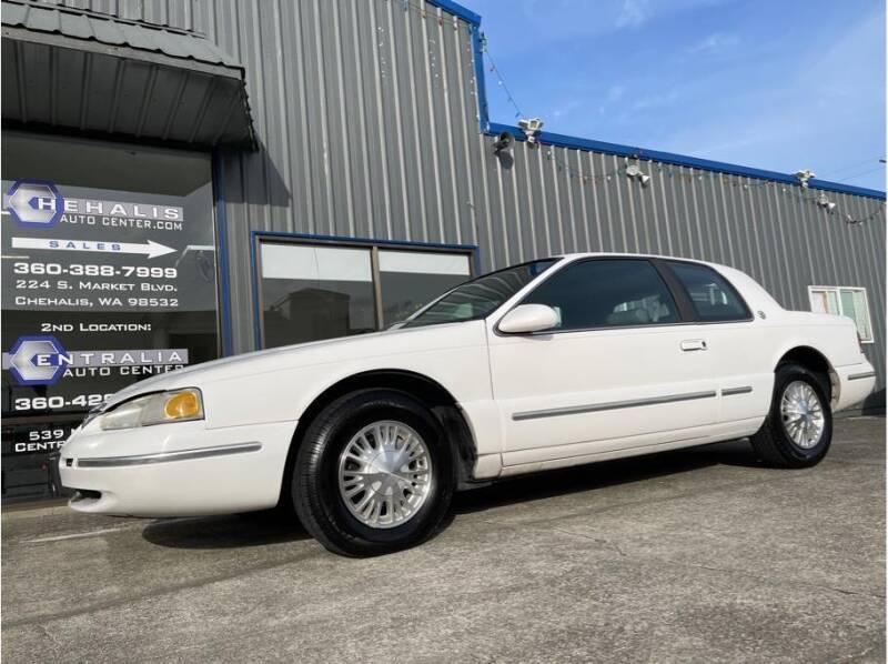 1996 Mercury Cougar for sale at Chehalis Auto Center in Chehalis WA