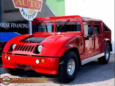 1999 AM General Hummer for sale at The New Auto Toy Store in Fort Lauderdale FL