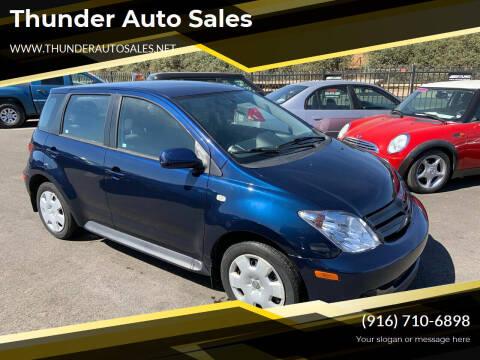 2005 Scion xA for sale at Thunder Auto Sales in Sacramento CA