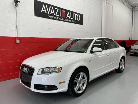 2008 Audi A4 for sale at AVAZI AUTO GROUP LLC in Gaithersburg MD
