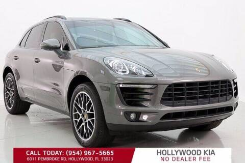 2016 Porsche Macan for sale at JumboAutoGroup.com in Hollywood FL