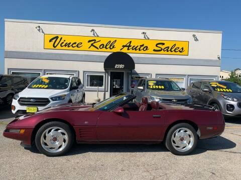 1993 Chevrolet Corvette for sale at Vince Kolb Auto Sales in Lake Ozark MO