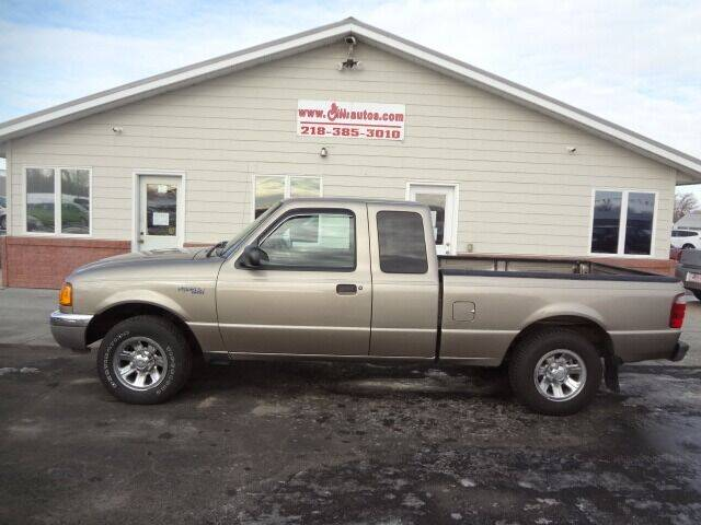 2003 Ford Ranger for sale at GIBB'S 10 SALES LLC in New York Mills MN