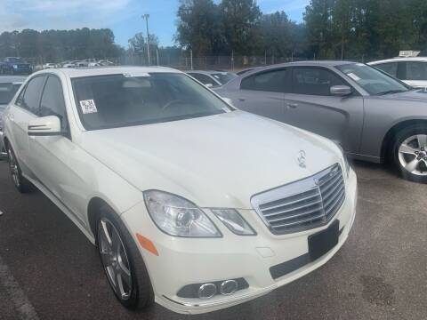 2011 Mercedes-Benz E-Class for sale at Drive Now Motors in Sumter SC