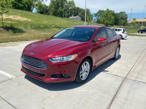 2016 Ford Fusion for sale at BIG O MOTORS LLC in Omaha NE