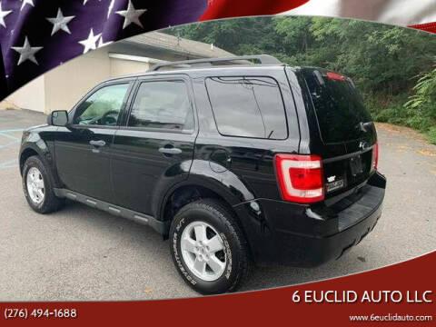 2010 Ford Escape for sale at 6 Euclid Auto LLC in Bristol VA
