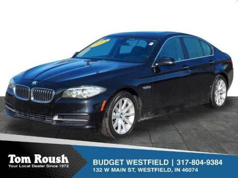 2014 BMW 5 Series for sale at Tom Roush Budget Westfield in Westfield IN