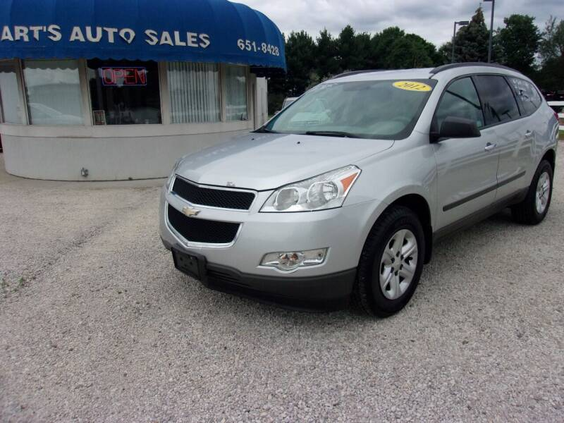 2012 Chevrolet Traverse for sale at Marty Hart's Auto Sales in Sturgis MI