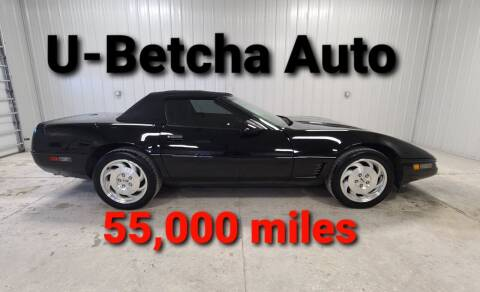 1995 Chevrolet Corvette for sale at Ubetcha Auto in St. Paul NE