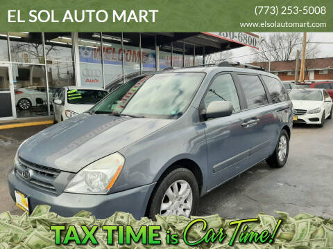 2007 Kia Sedona for sale at EL SOL AUTO MART in Franklin Park IL