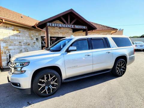2016 Chevrolet Suburban for sale at Performance Motors Killeen Second Chance in Killeen TX