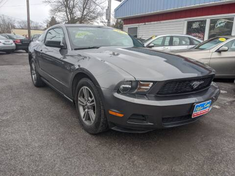 2010 Ford Mustang for sale at Peter Kay Auto Sales in Alden NY
