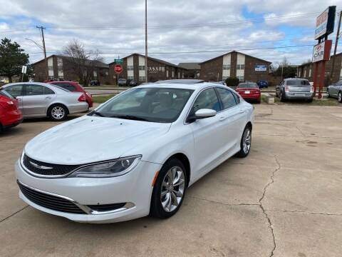 2015 Chrysler 200 for sale at Car Gallery in Oklahoma City OK