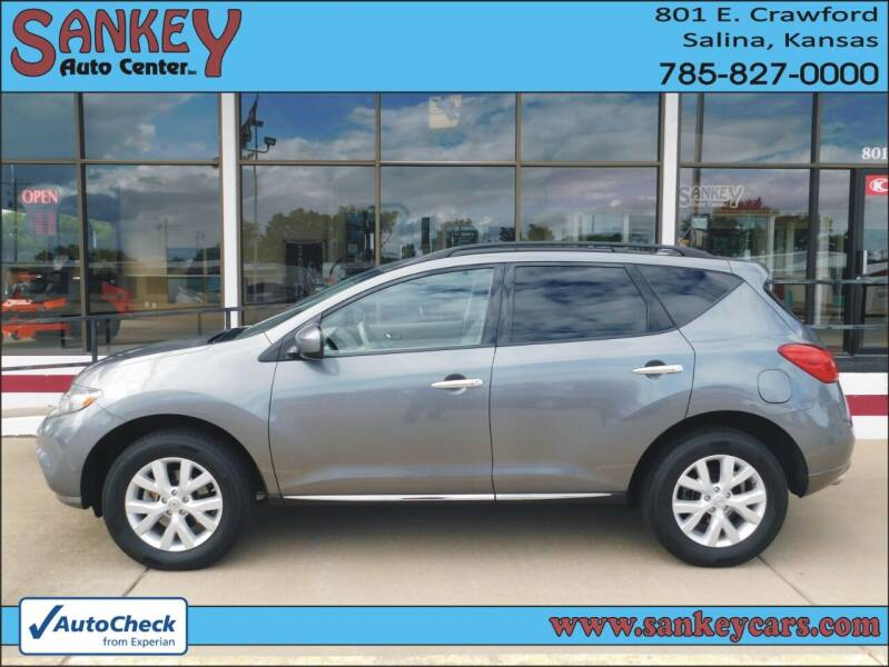 2013 Nissan Murano for sale at Sankey Auto Center, Inc in Salina KS
