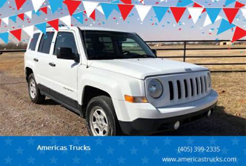 2016 Jeep Patriot for sale at Americas Trucks in Jones OK