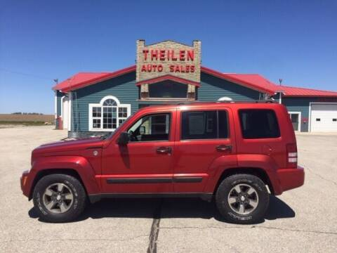 2008 Jeep Liberty for sale at THEILEN AUTO SALES in Clear Lake IA